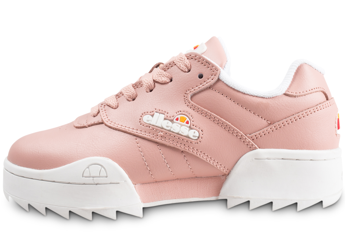 Ellesse Plativo Low Rose Femme Baskets