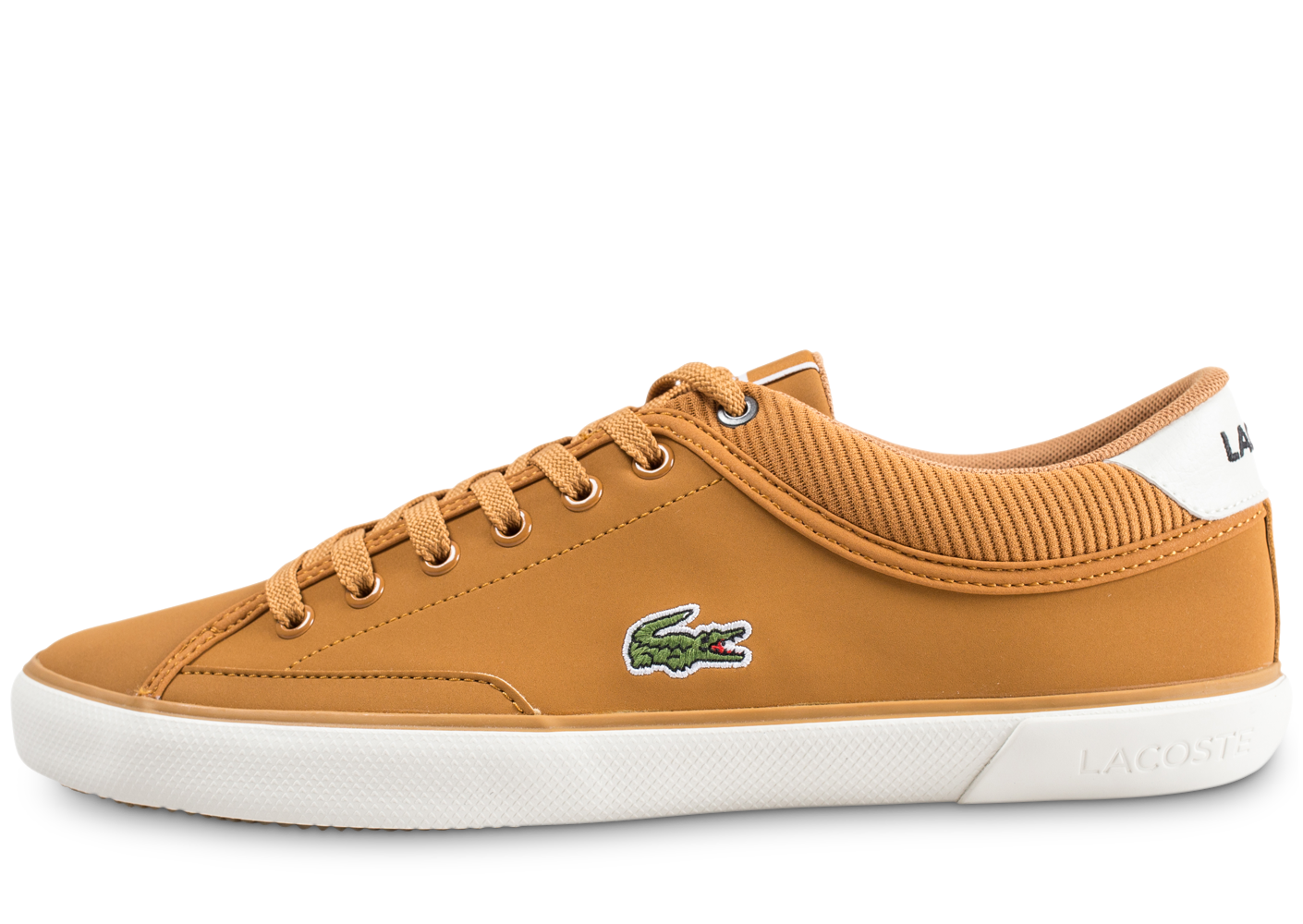 Lacoste Homme Angha Marron Baskets