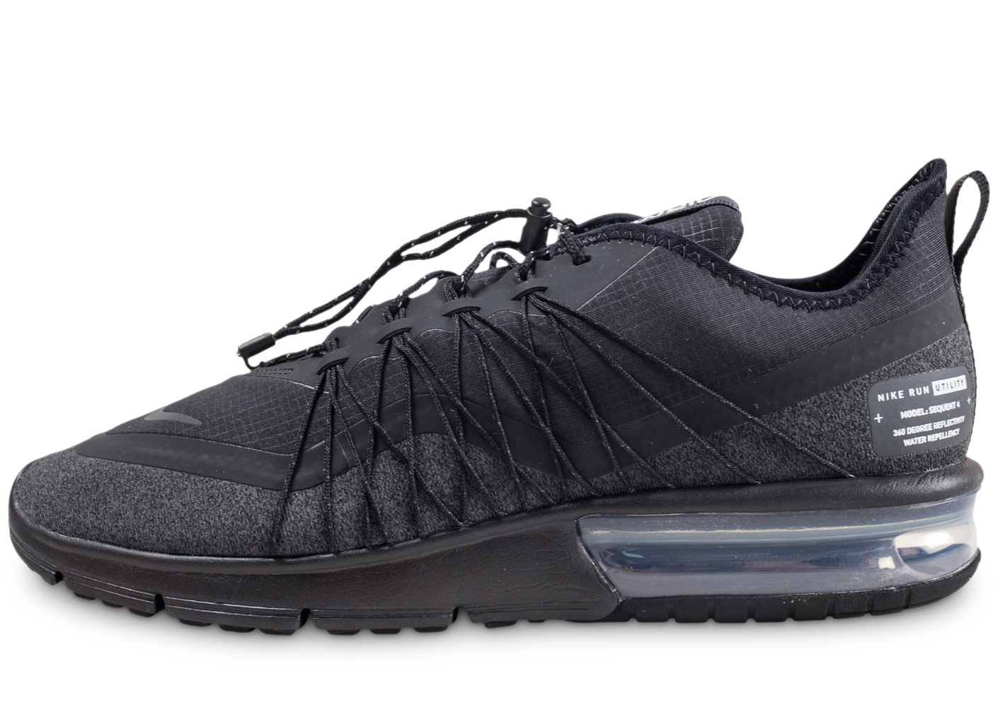 Nike homme air max sequent 4 shield noire baskets