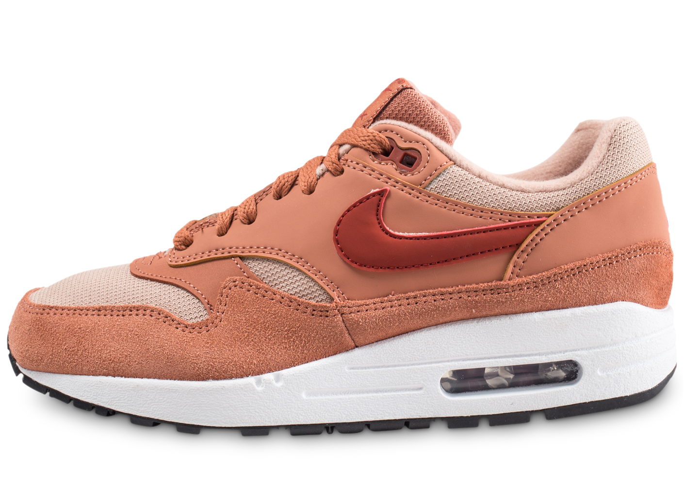 new arrival a3f82 d1690 Nike air max 1 beige femme baskets streetwear