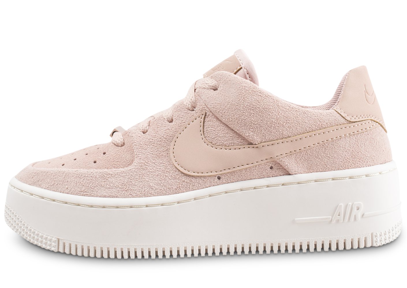 Nike femme air force 1 sage low rose...