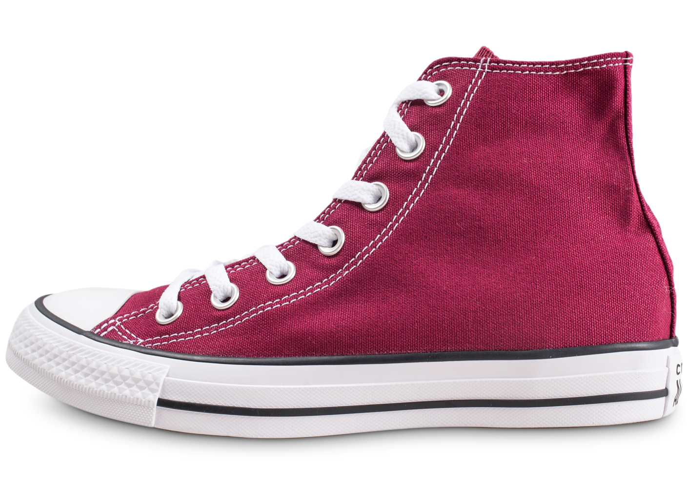 Converse chuck taylor all star hi bordeaux...