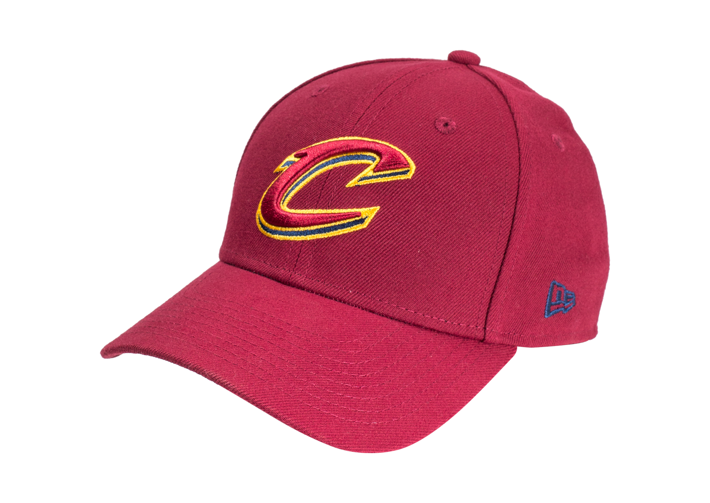 New Era Enfant Casquette Nba Cleveland Cavaliers 9forty Bordeaux Junior