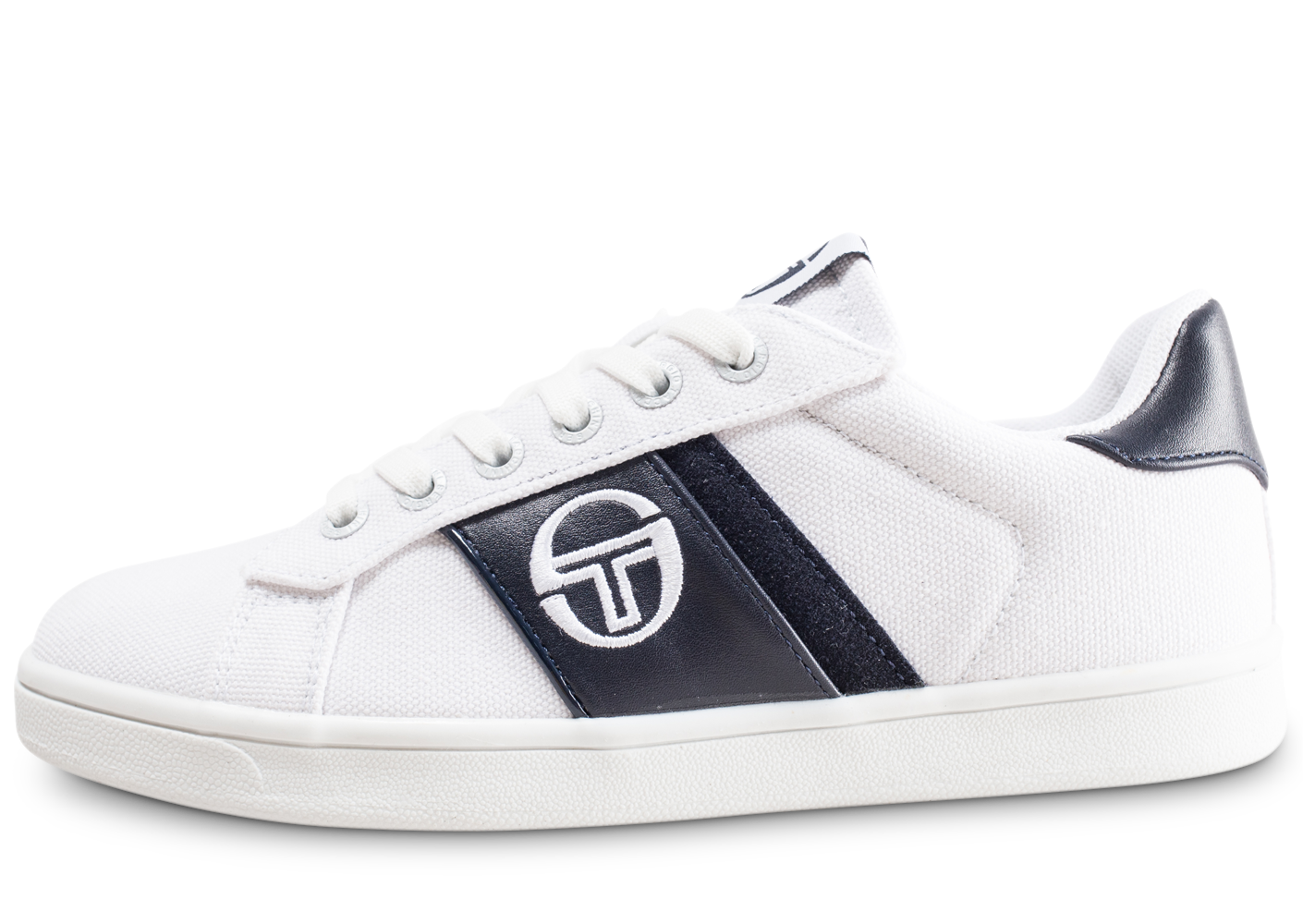 Sergio Tacchini Enfant Parigi Blanche Et Bleue Junior Baskets