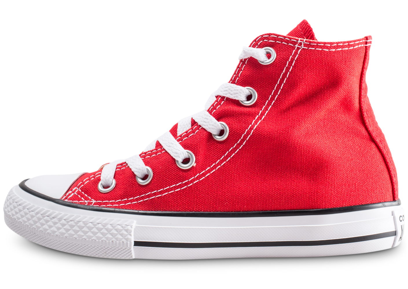 Baskets converse chuck taylor all star hi rouge...