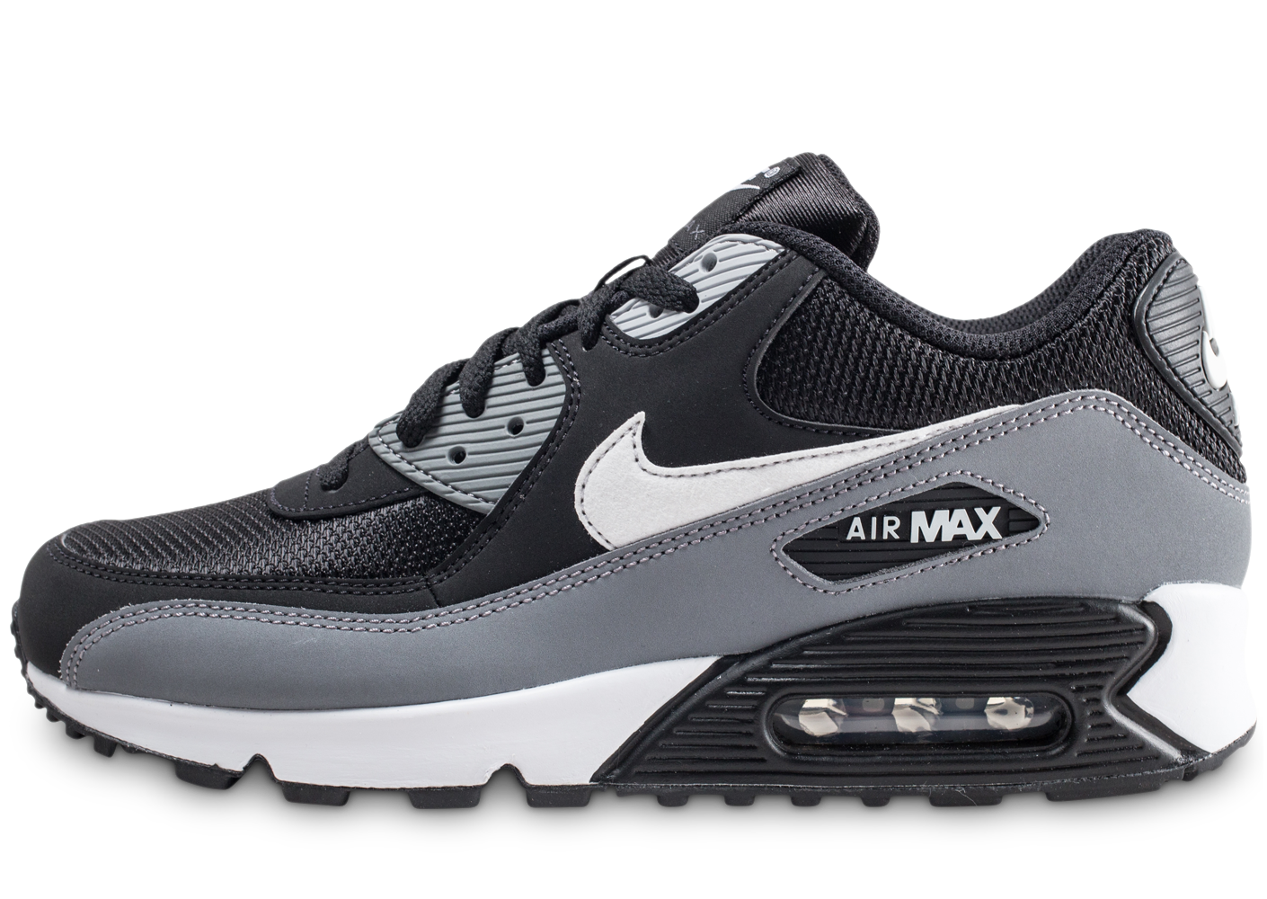 save off 527ef eb0e7 Nike homme air max 90 essential gris noir et.