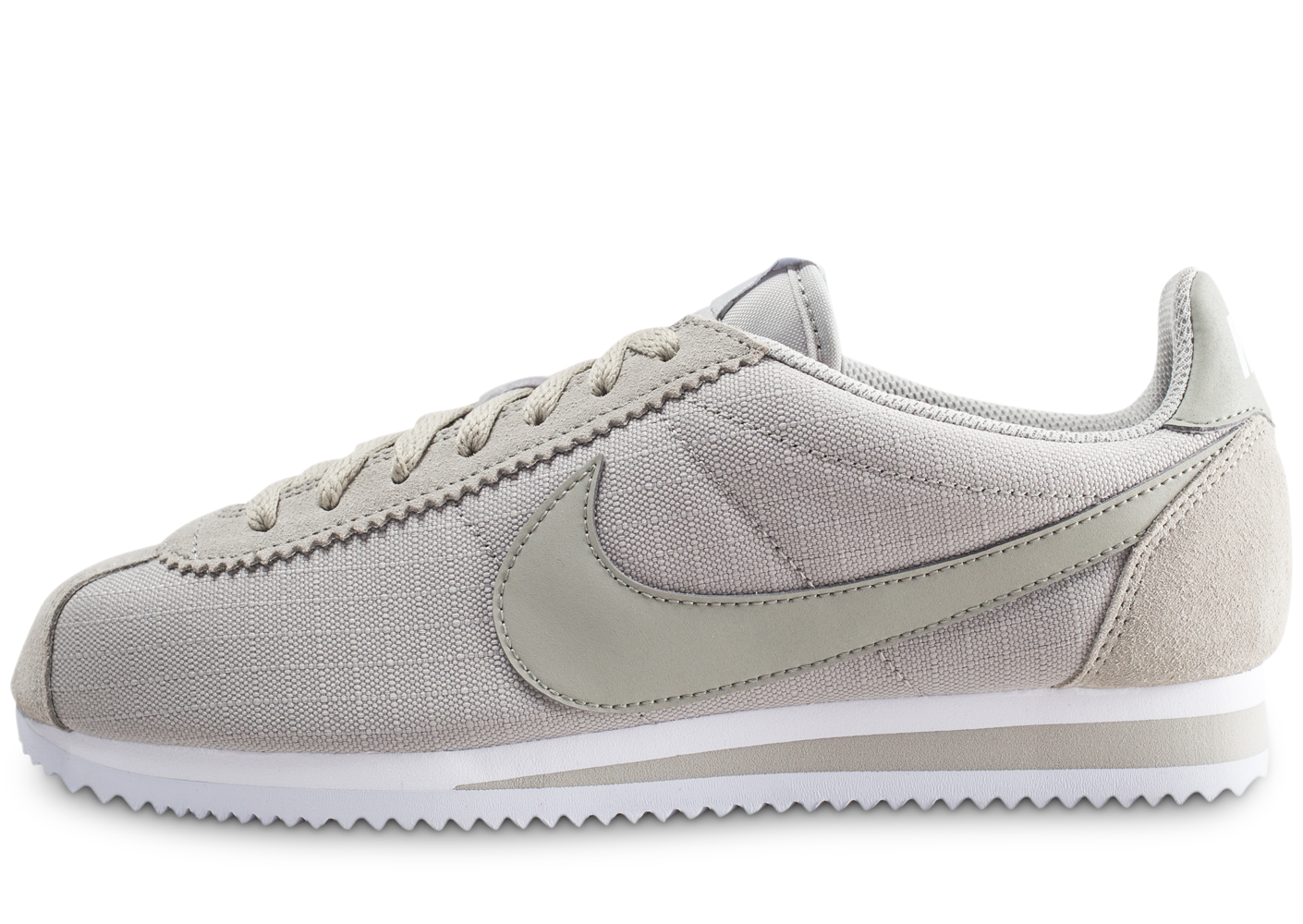 official photos 35150 90c9e Nike homme classic cortez nylon grise baskets