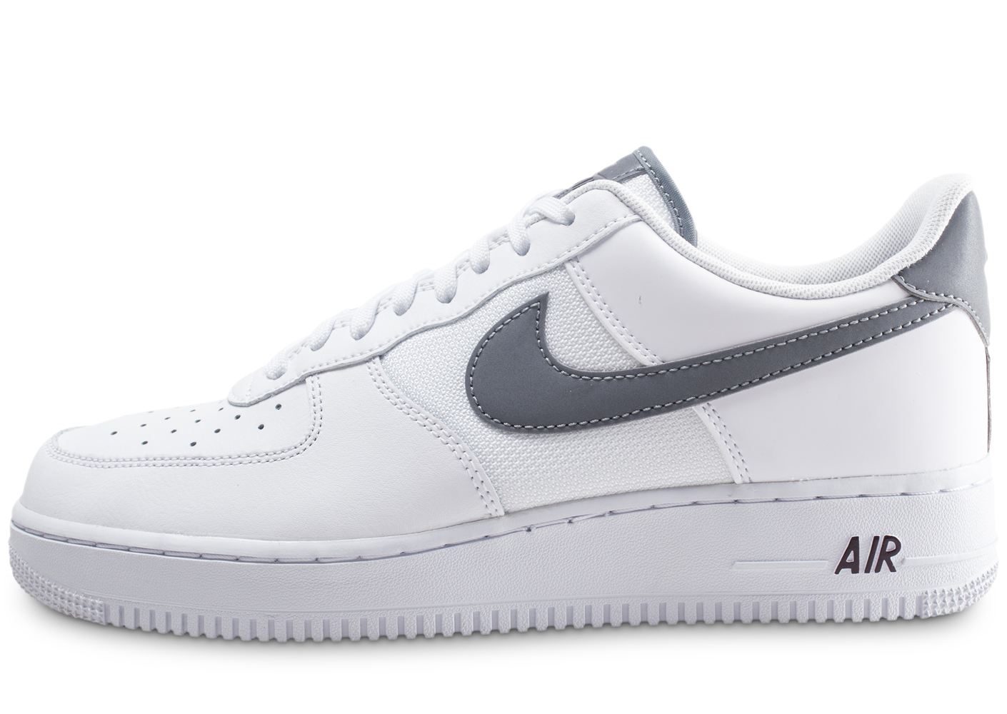 best authentic 0fbbf 32798 Nike homme air force 1  07 lv8 blanche et grise.