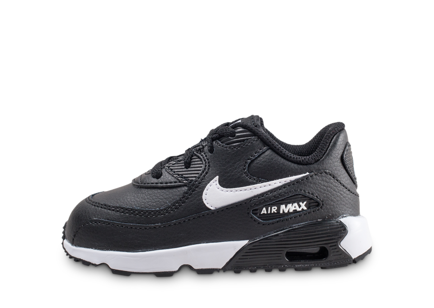 Nike nike air max 90 leather noire et blanche...
