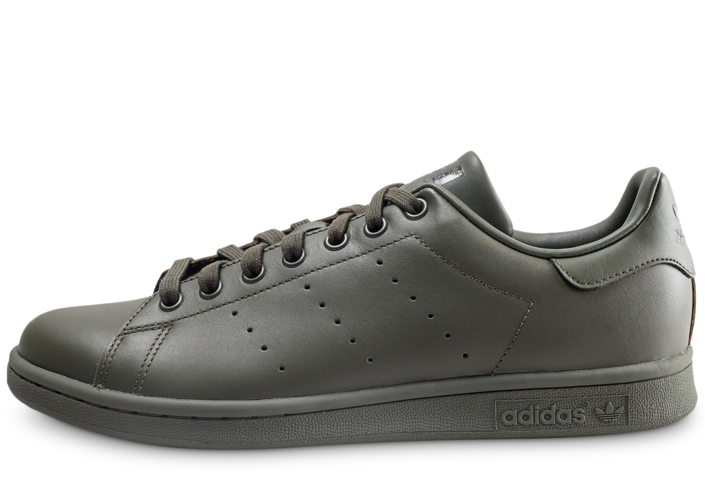 best service ed28b 96de0 Adidas homme stan smith kaki baskets