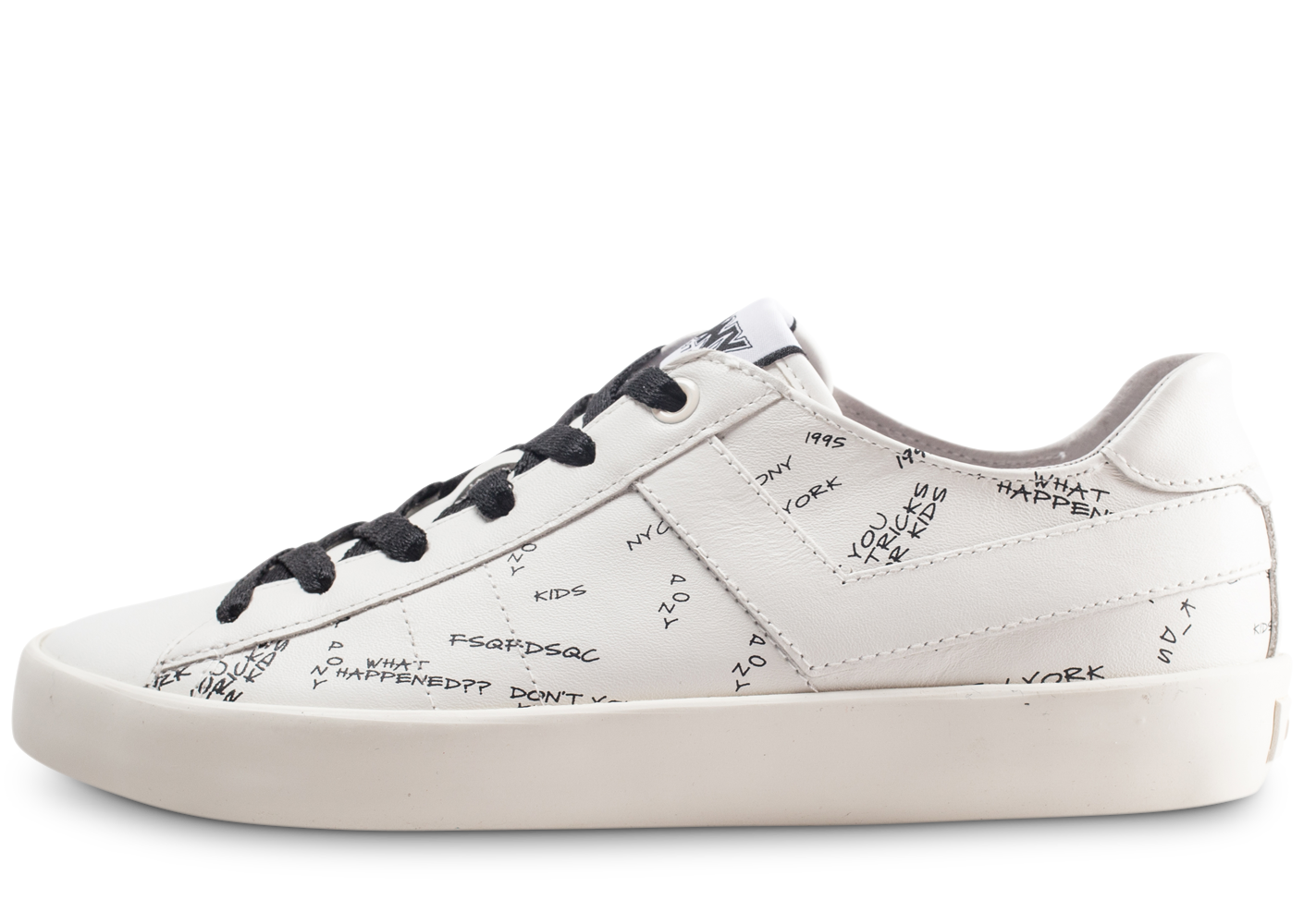 Pony Homme Top Star Blanche  Baskets