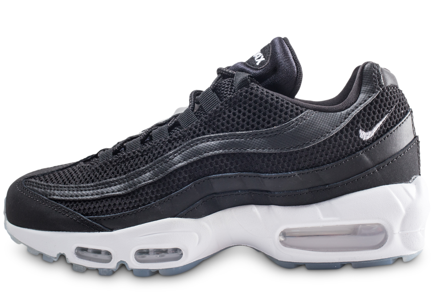 the latest d8fde 2b42c Nike homme air max 95 essential noire et argent.