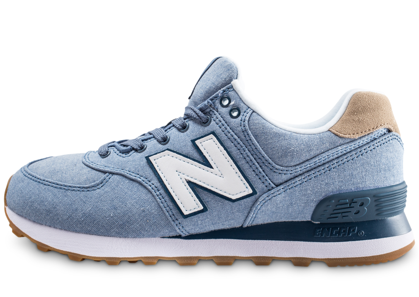 New balance homme ml574stb bleue...