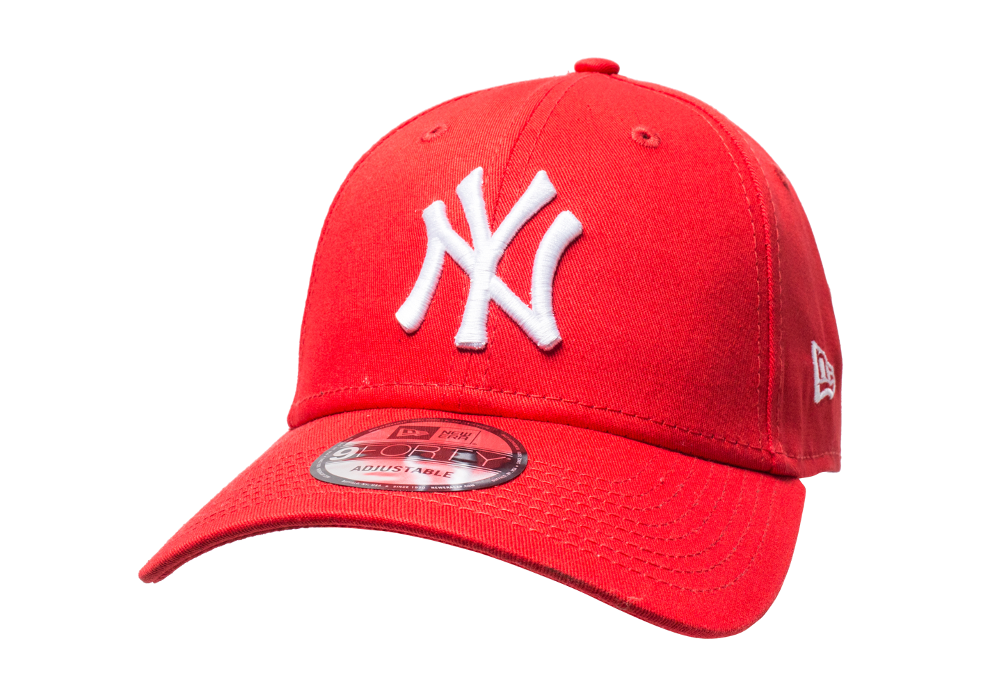 New Era Homme Casquette 9/40 Rouge Ny
