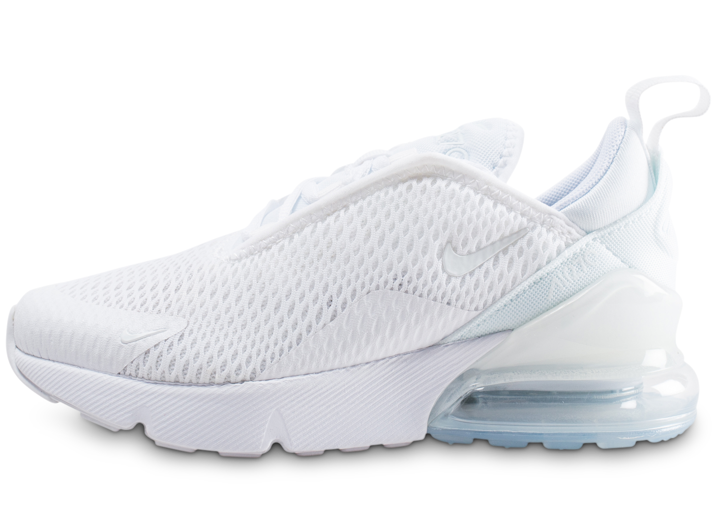 new products 08946 df615 Nike air max 270 blanche et argent enfant.