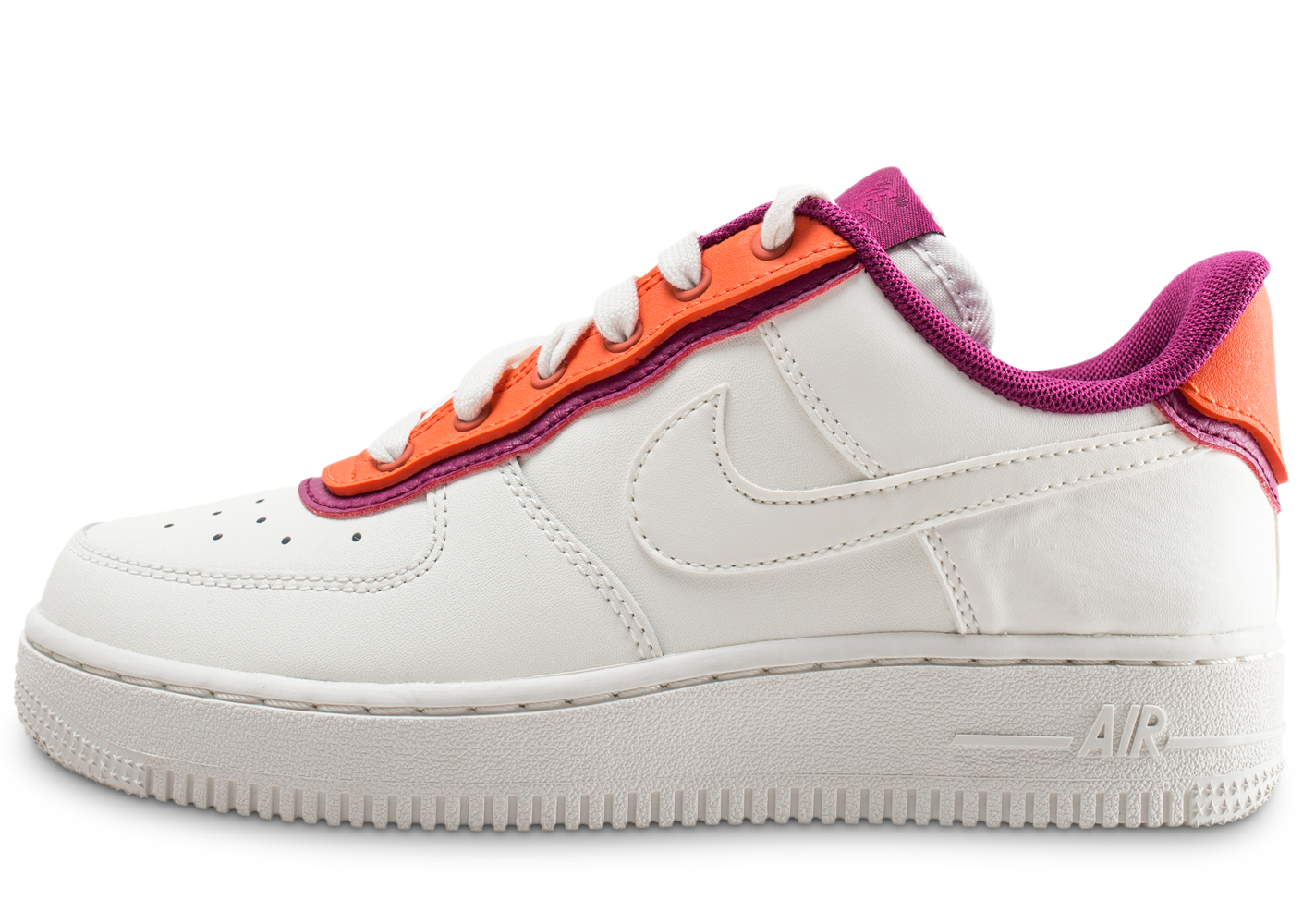 the latest 787eb 42bf4 Nike femme air force 1  07 se blanche orange et.