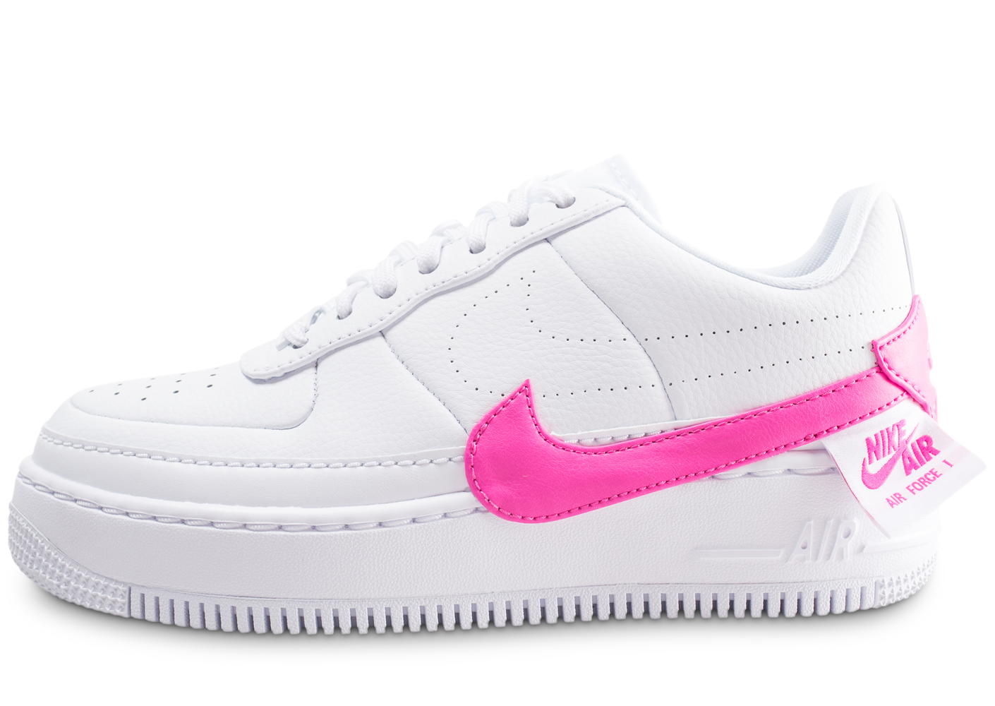 official photos bac7e 523bb Nike air force 1 jester xx blanche et fuchsia.