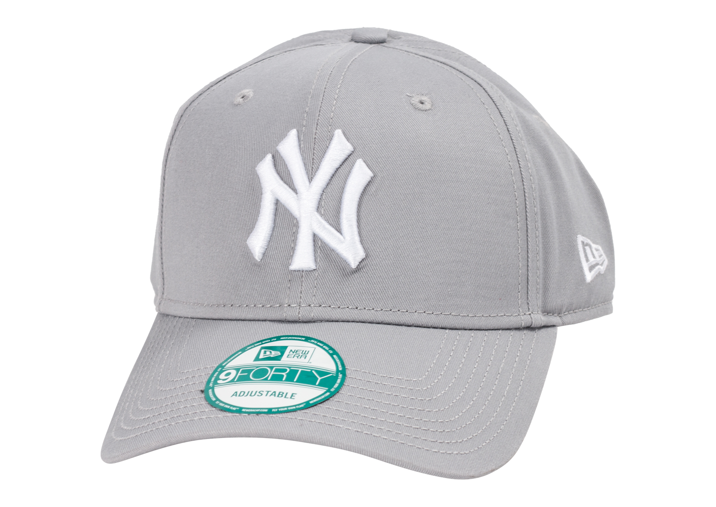 New Era Homme Casquette 9/40 Mlb The League New York Yankees Gris