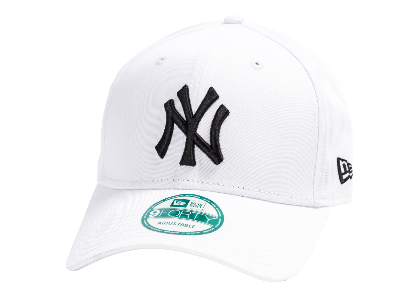 New Era Homme Casquette 9/40 Mlb New York Essential Blanche