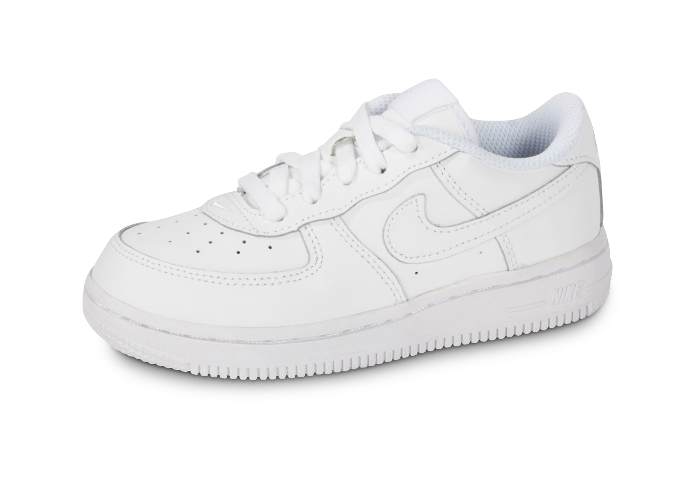 Baskets nike air force 1 bébé blanche