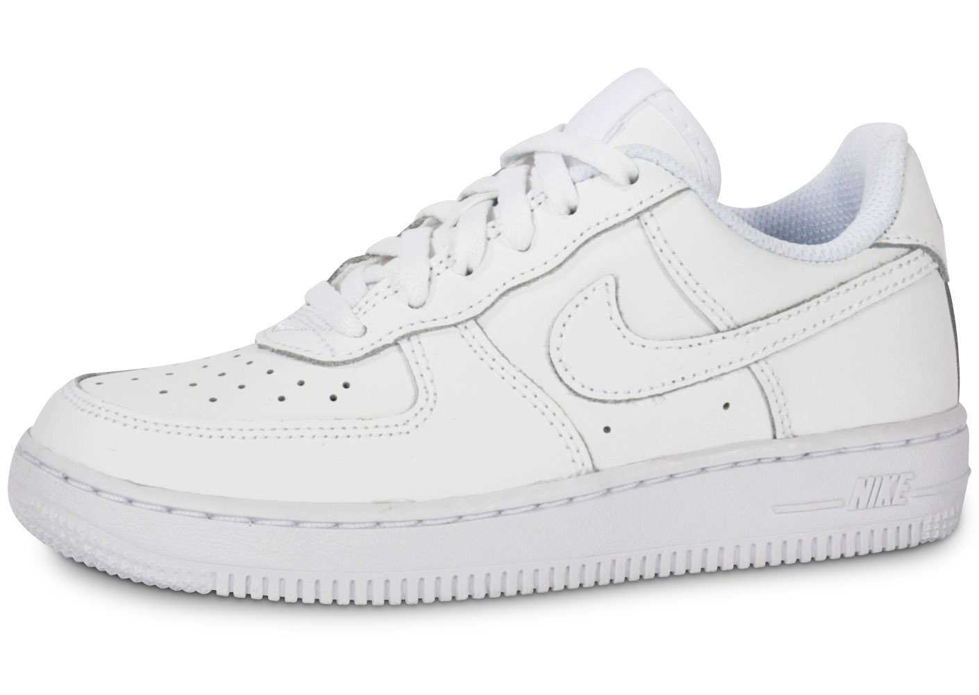 Baskets nike air force 1 enfant blanche