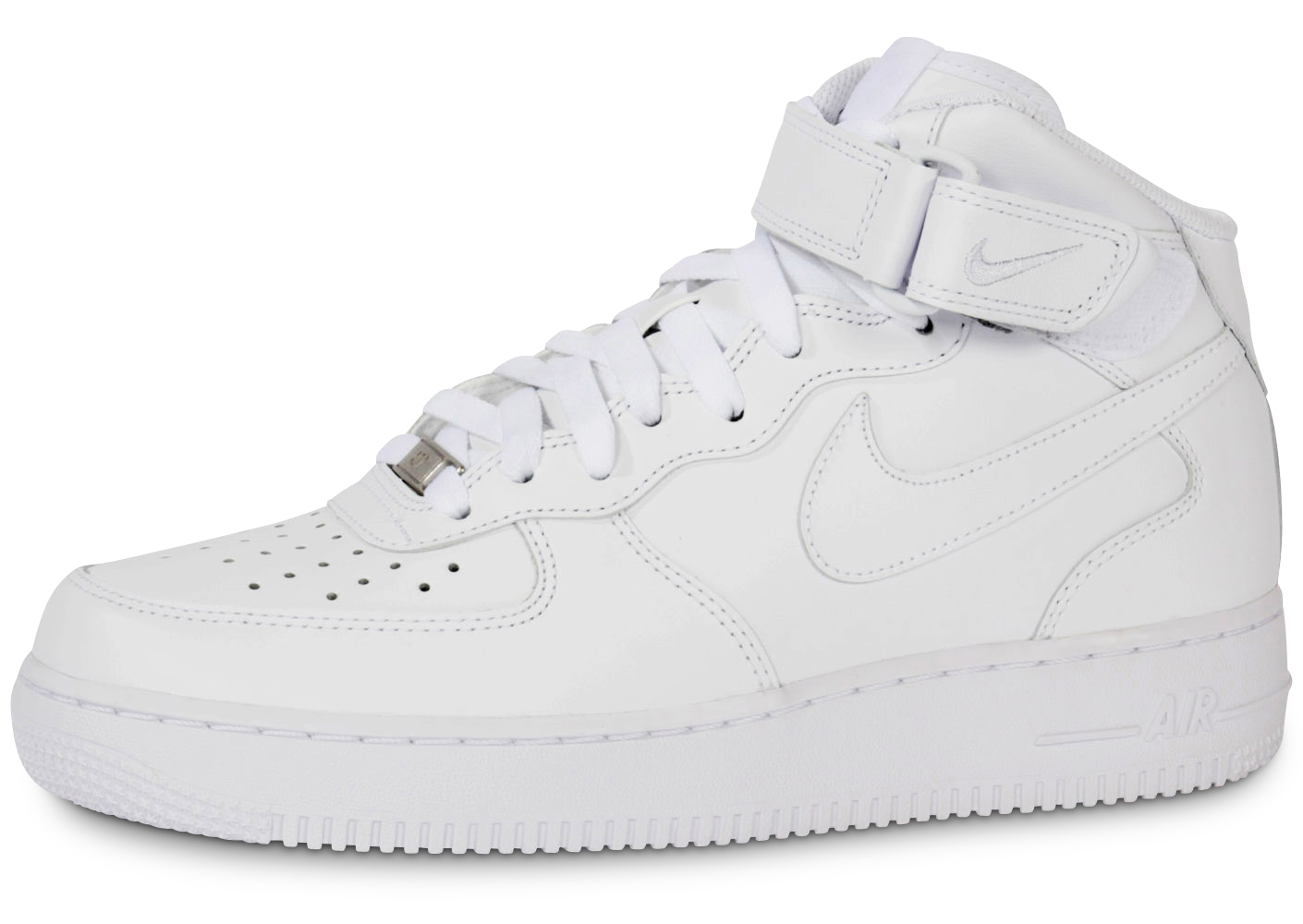 save off 8f0bc 9b46f Nike homme air force 1 mid 07 blanche baskets