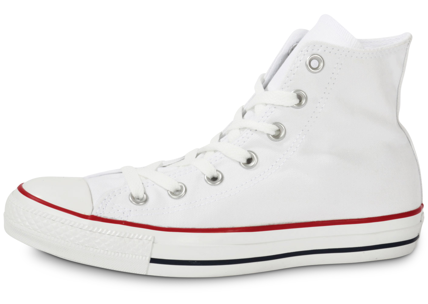 Converse femme chuck taylor all star hi blanche...