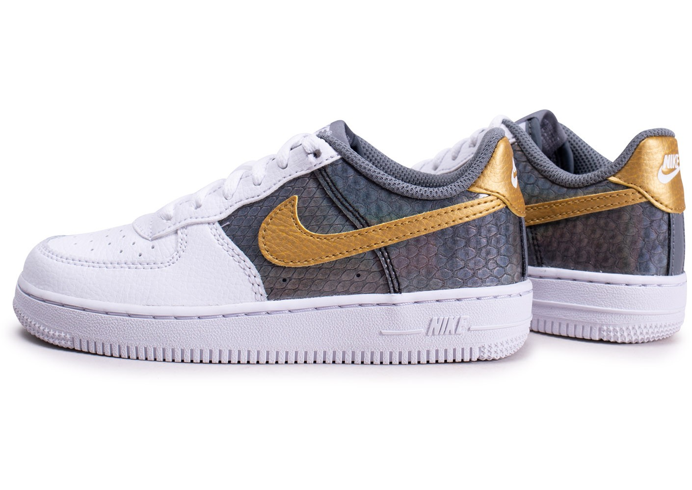 air force 1 enfant gris