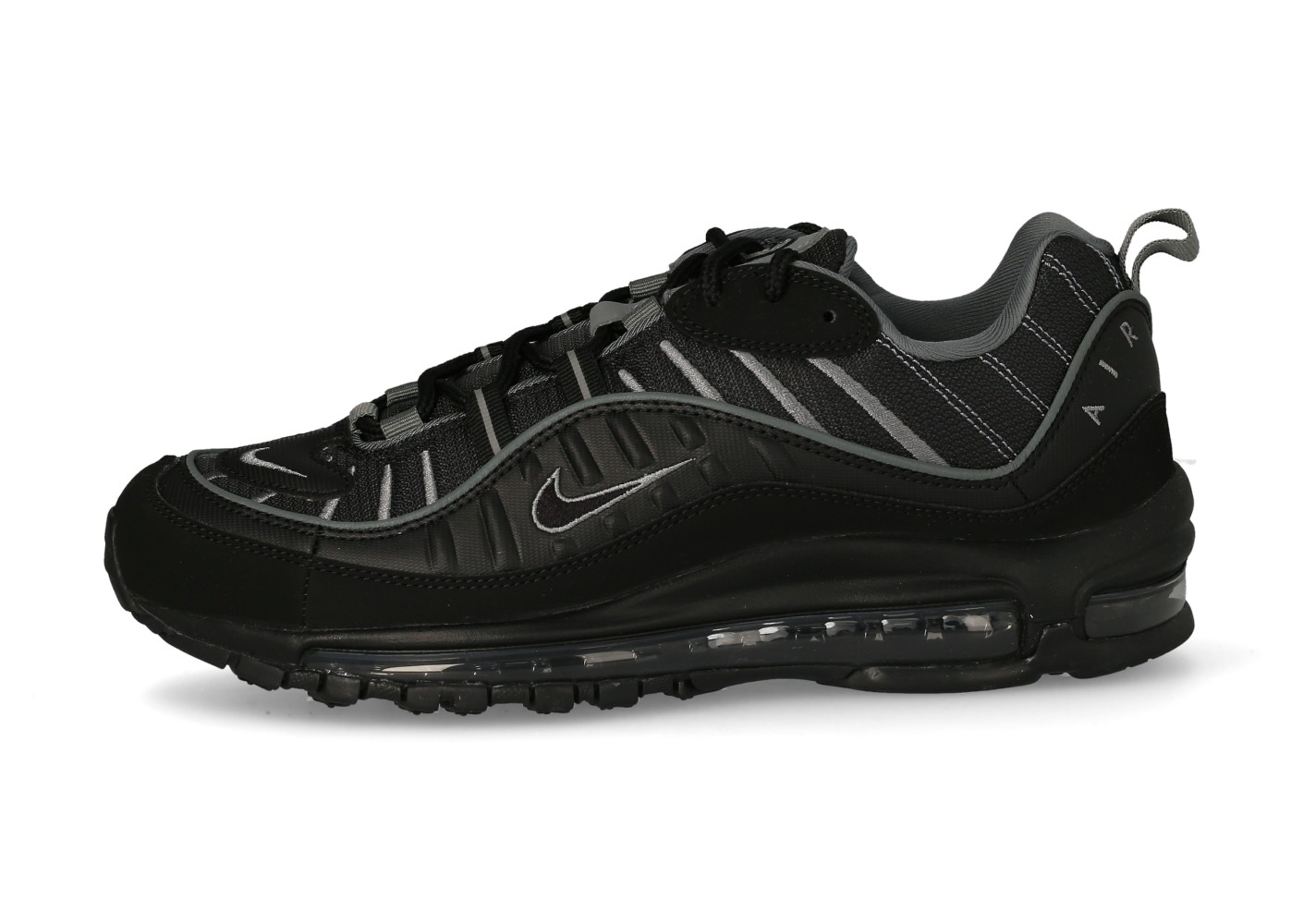 Nike Air Max 98 noir anthracite - Chaussures Baskets homme ...