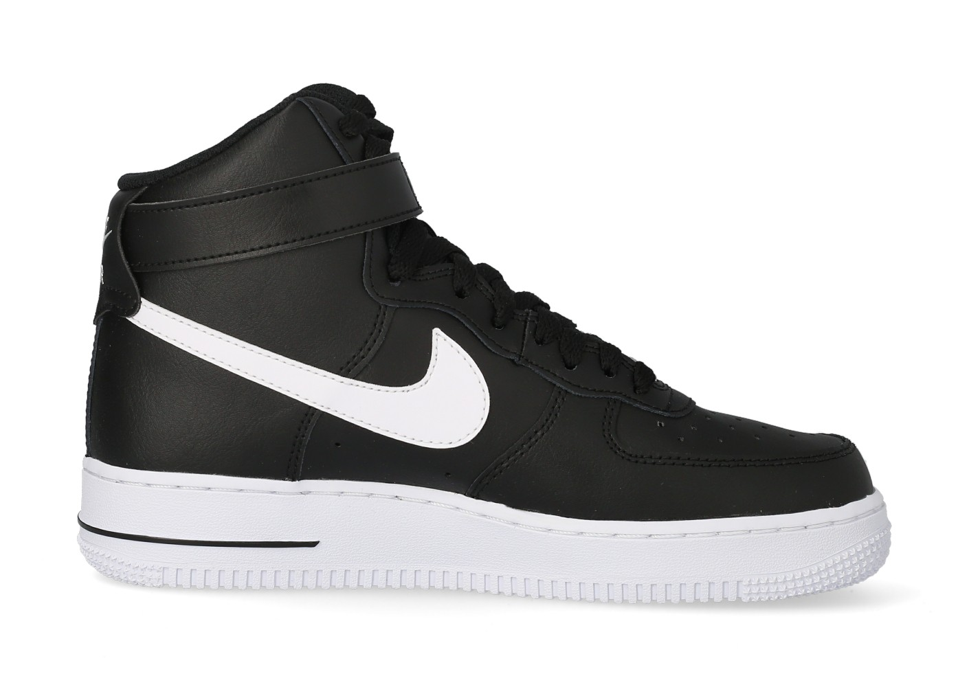 Nike Air Force 1 High '07 noire et blanche - Chaussures Baskets ...