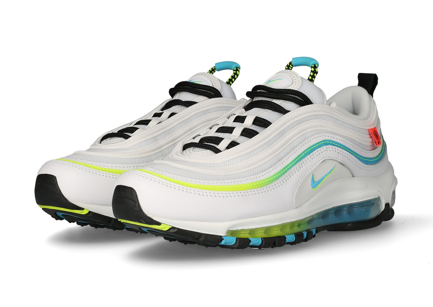 Nike Air Max 97 Worldwide blanche - Chaussures Baskets homme ...