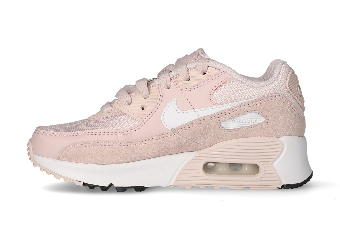 Nike Air max 90 leather enfant rose - Chaussures Prix stylés ...