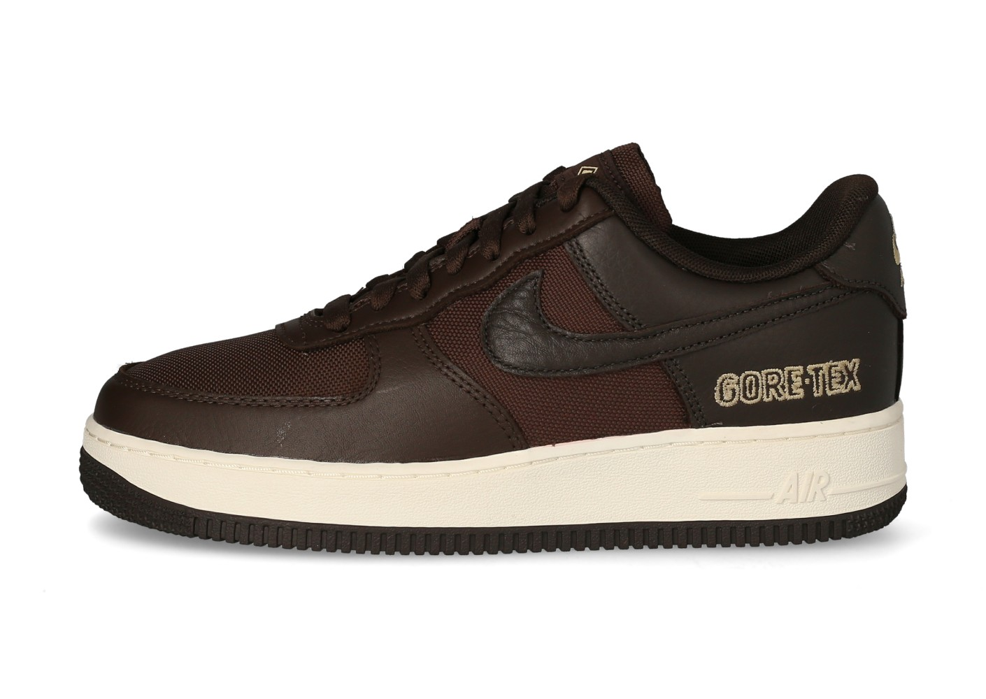 Nike Air Force 1 Gore tex marron - Chaussures Baskets homme - Pochta