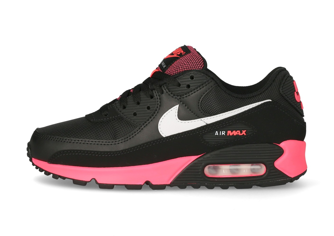 Nike Air Max 90 Homme noir Racer Pink - Chaussures Baskets homme ...