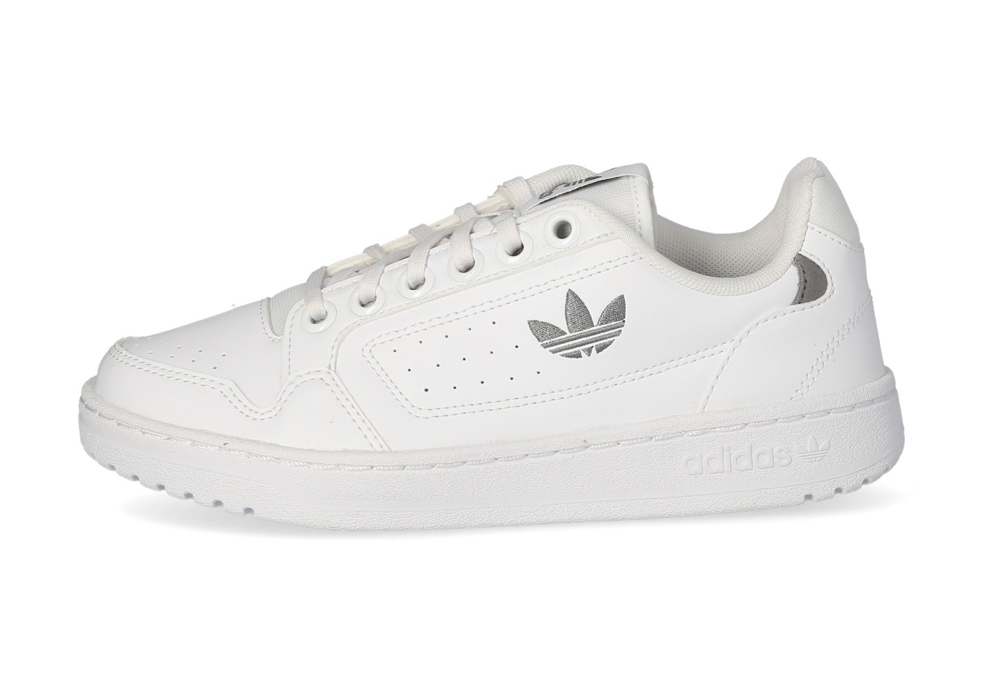 adidas NY 90 Femme blanche et grise - Chaussures adidas - Chausport