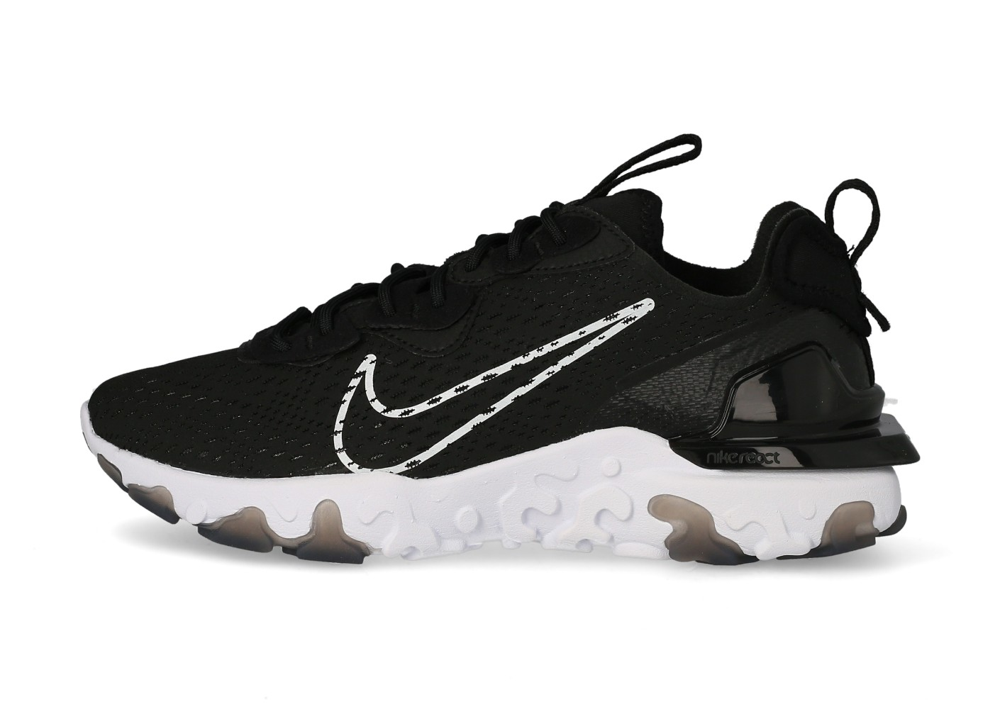 Nike React Vision Homme noire et blanche - Chaussures Baskets ...