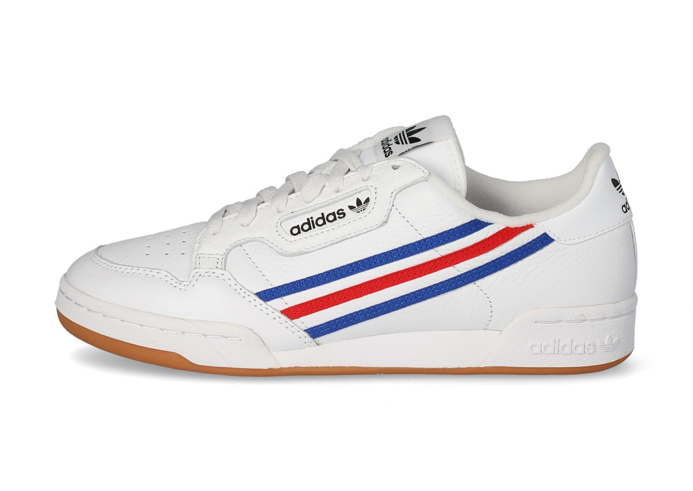 adidas Continental 80 tricolore Homme blanche - Chaussures Baskets ...