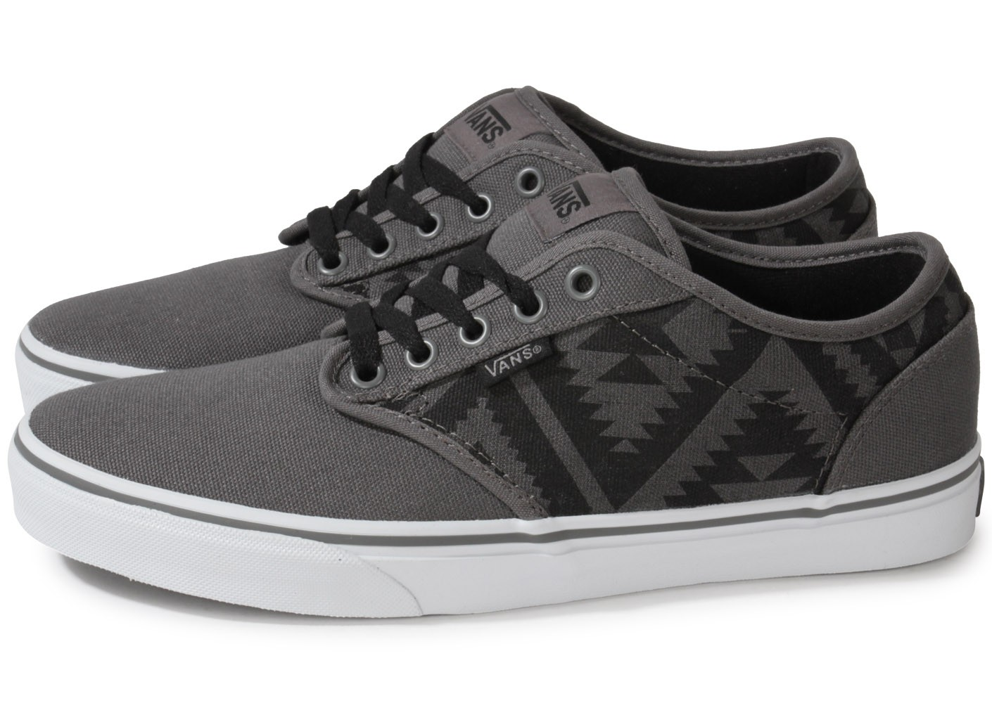 Vans Atwood Native Grise - Chaussures Baskets homme - Chausport