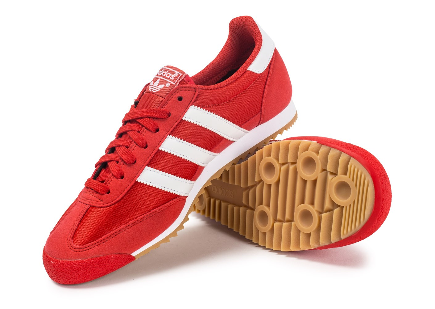 adidas Dragon OG rouge - Chaussures Baskets homme - Chausport