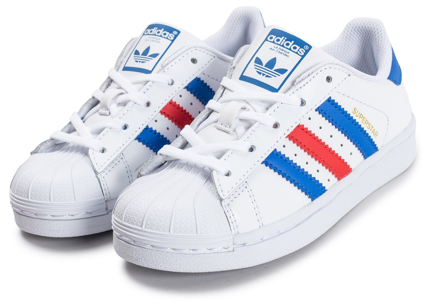 adidas bleu superstar