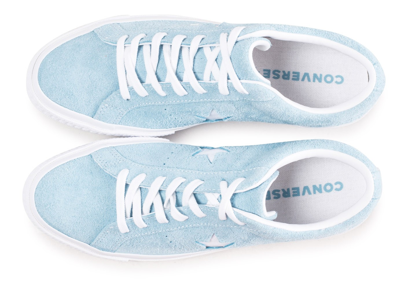 Converse One Star Vintage OX Suede bleu - Chaussures Baskets homme ...