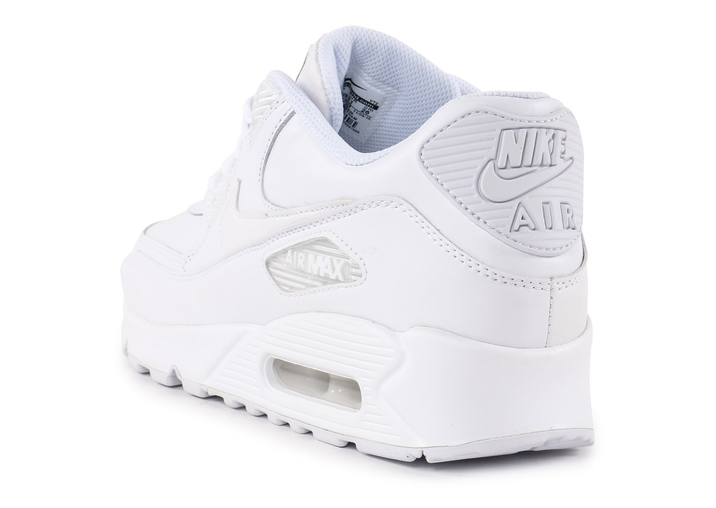 Nike Air Max 90 Leather Blanche - Chaussures Baskets homme - Chausport