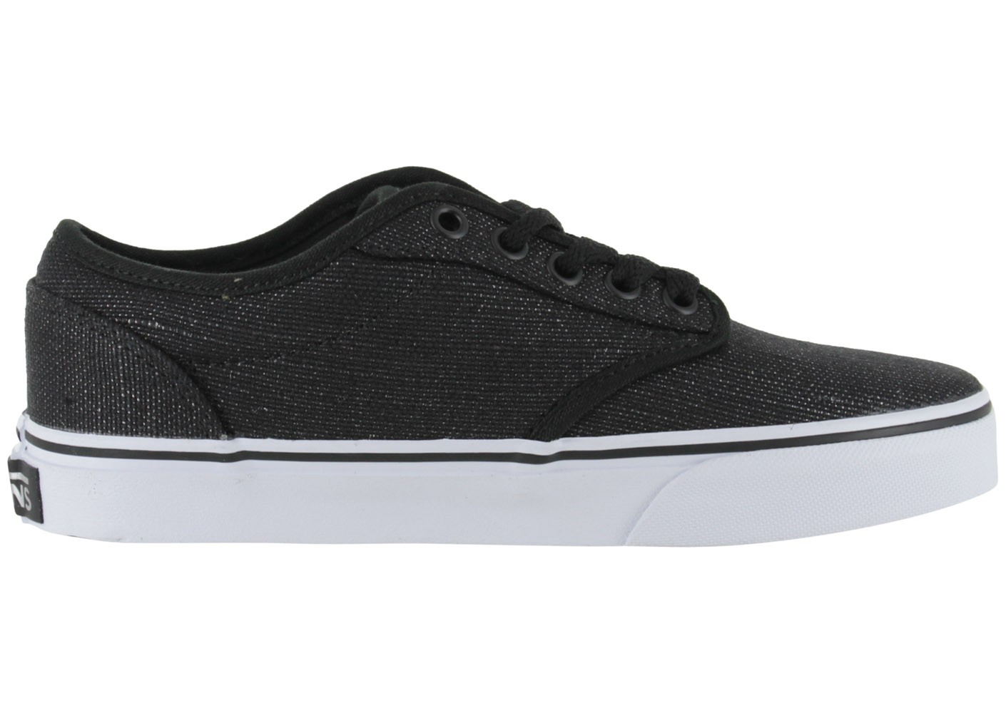 Vans Atwood Low Noir Brillant - Chaussures Chaussures - Chausport