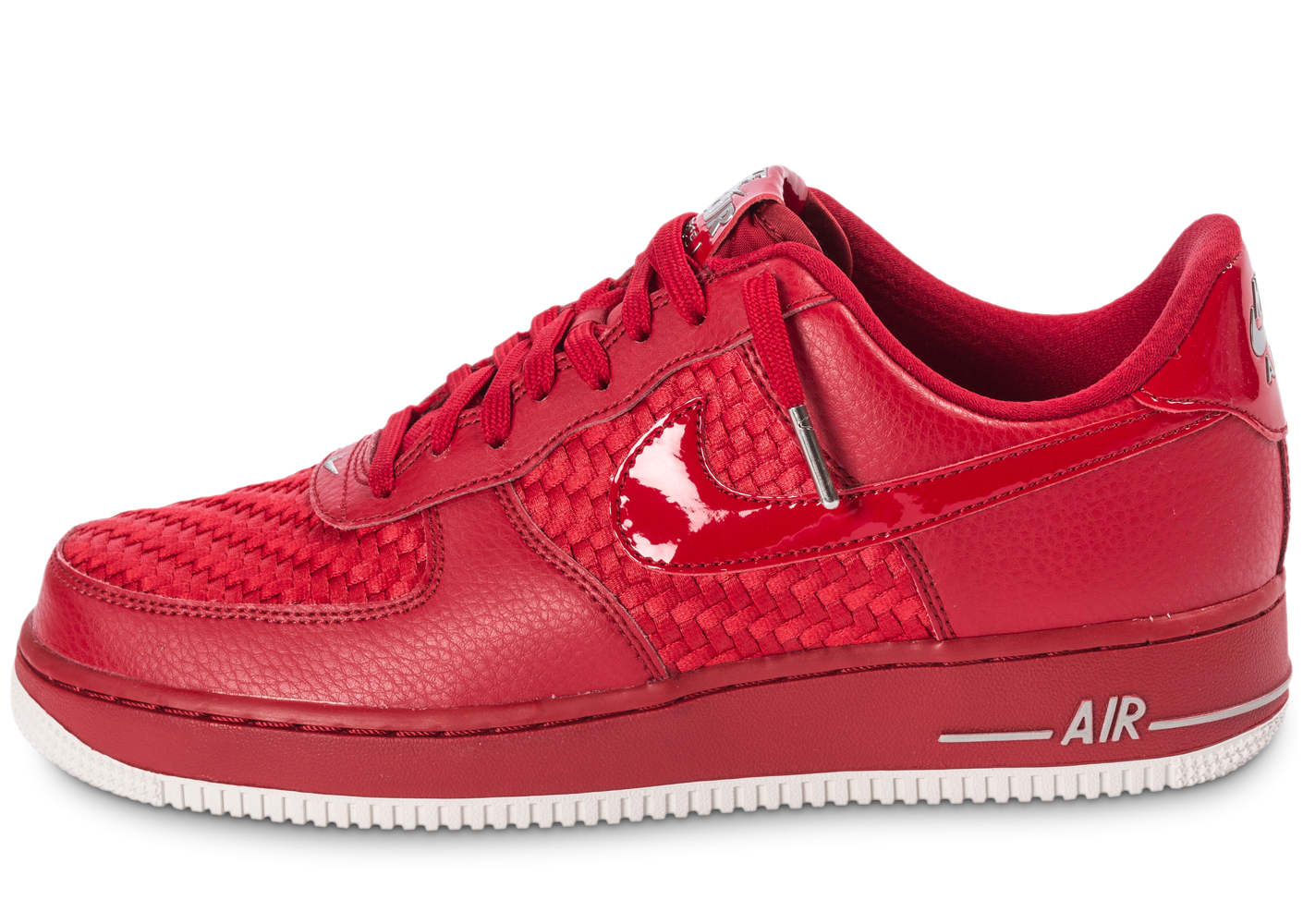 Nike Air Force 1 LV8 Low rouge - Chaussures Baskets homme - Chausport