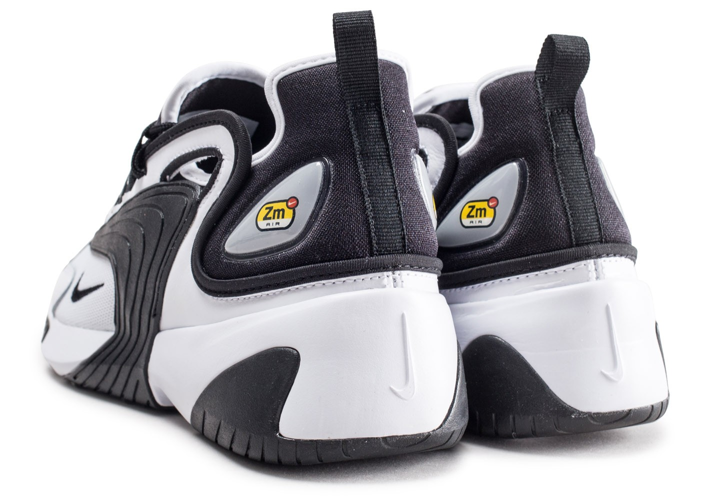 Nike Zoom 2K noire et blanche - Chaussures Baskets homme ...