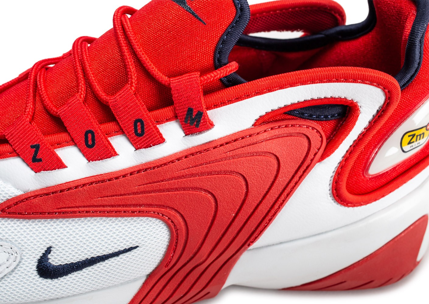 Nike Zoom 2K blanche et rouge - Chaussures Baskets homme - Chausport