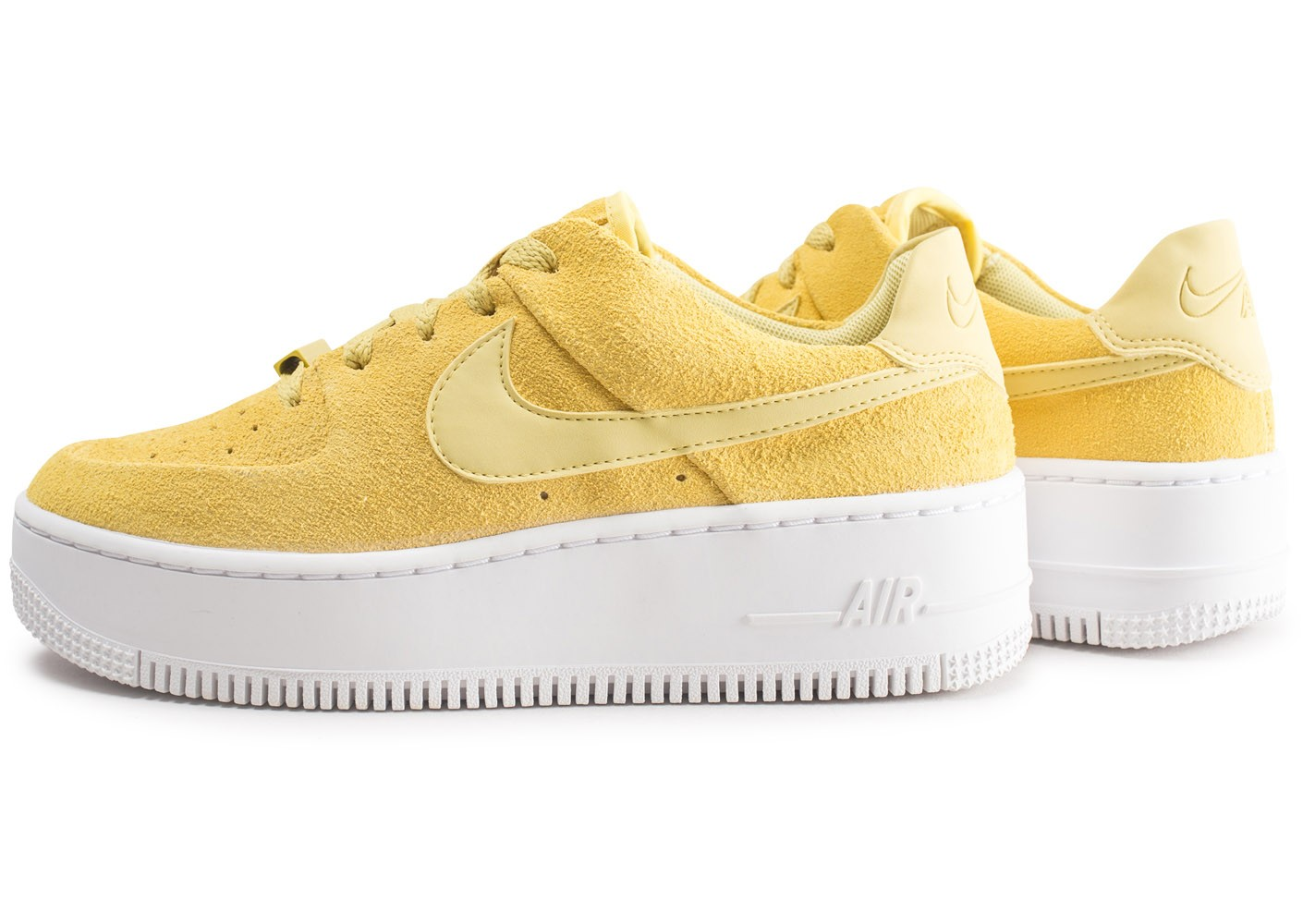air force 1 sage low blanche et jaune