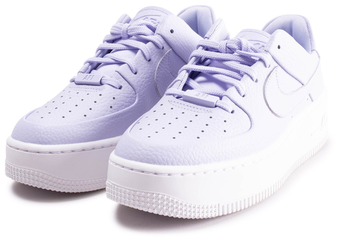 Nike Air Force 1 Sage Low violette - Chaussures Baskets femme ...