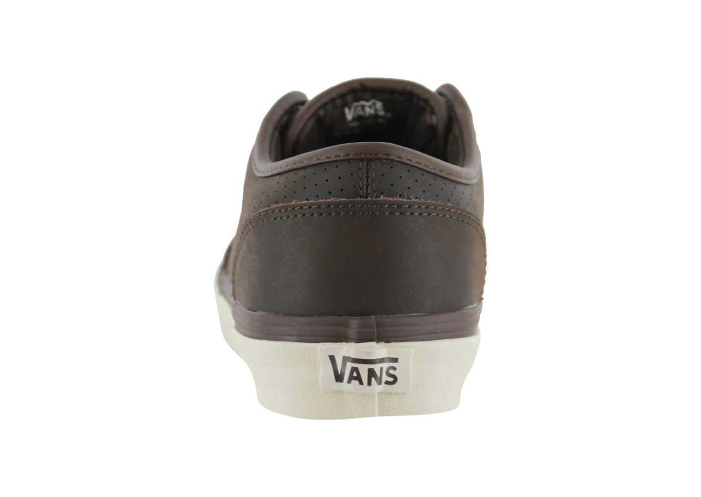 Vans Atwood Cuir Marron - Chaussures Baskets homme - Chausport