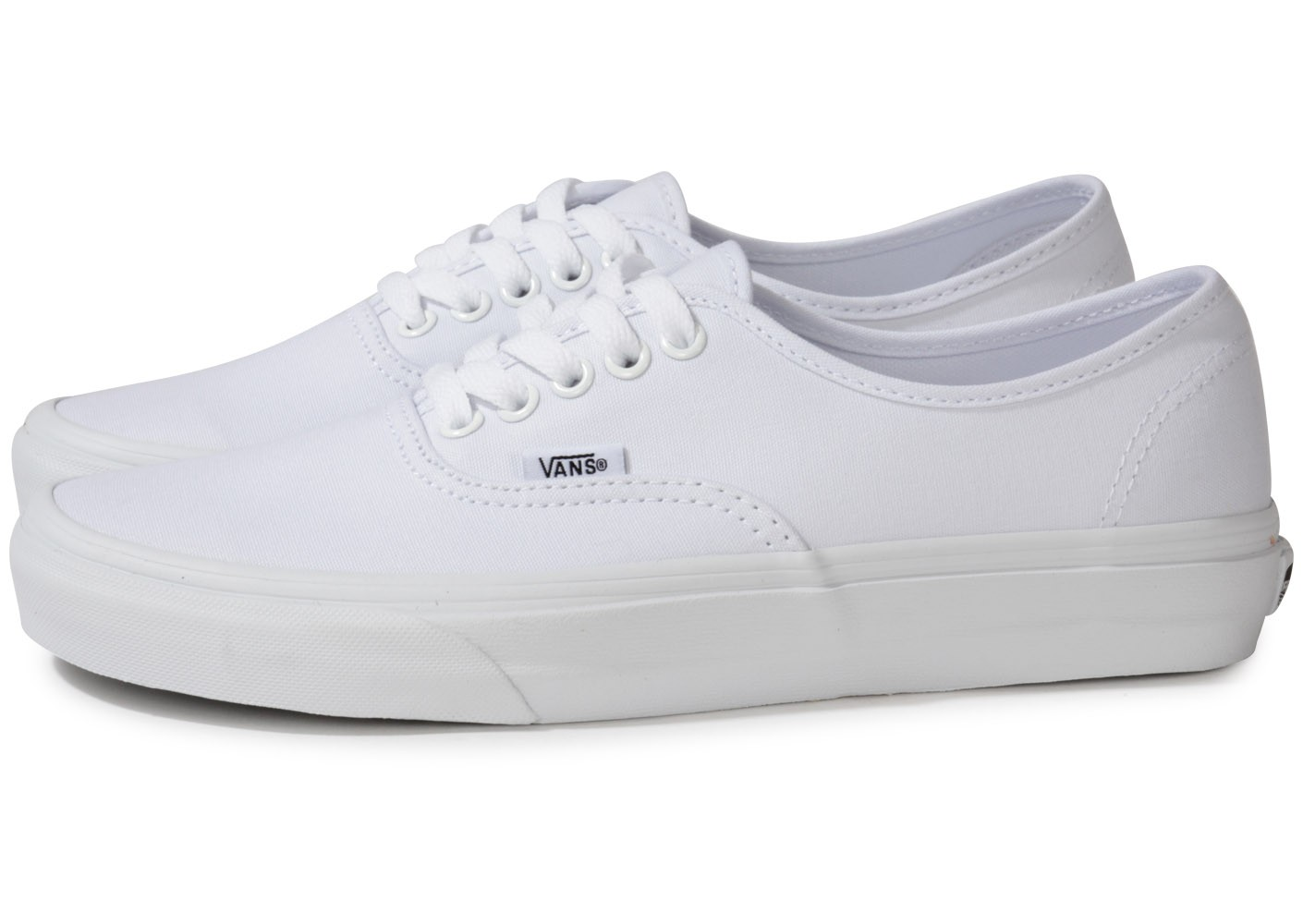 Vans Authentic Blanche - Chaussures Baskets homme - Snaidero-usa